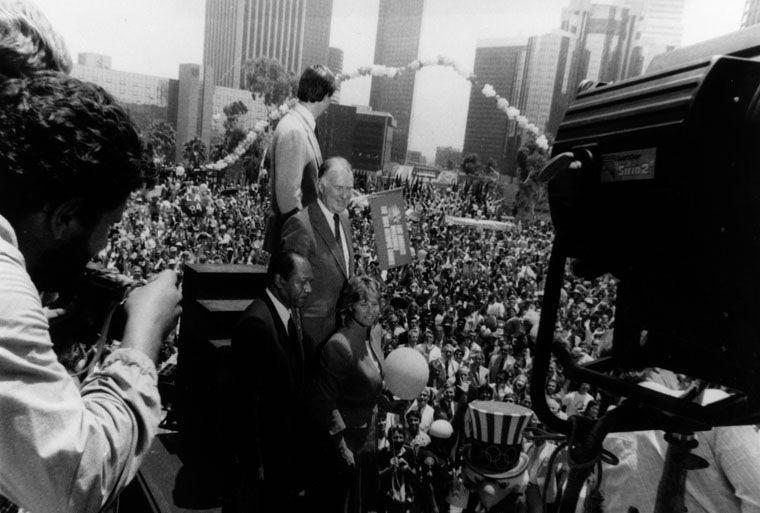 Olympics parade, 1984