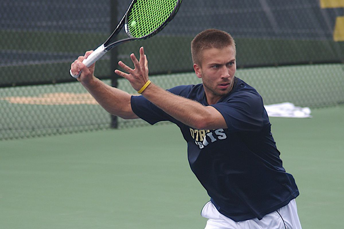 Matt Dooley came out as gay to his Notre Dame tennis team in September 2013, two years after his suicide attempt. He now works with You Can Play to help other LGBT athletes at Notre Dame.