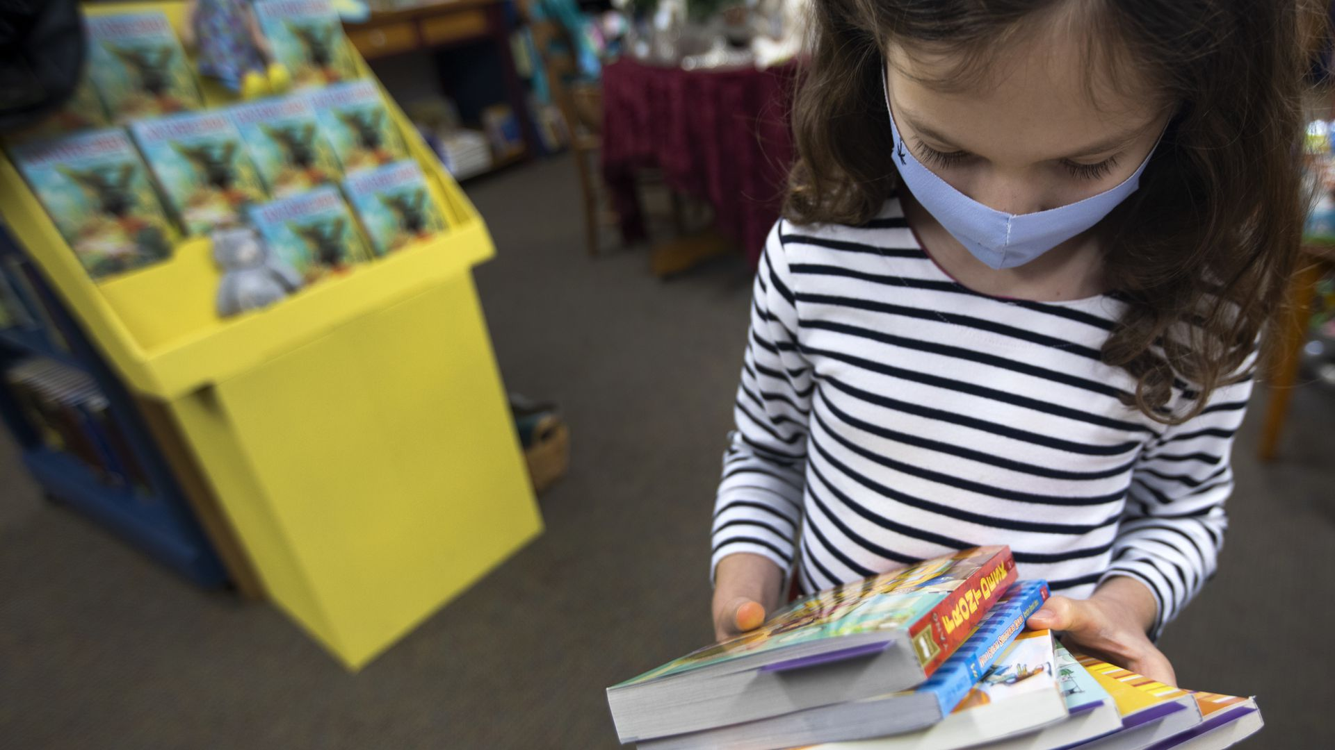 Maureen Palacios is the owner of Once Upon a Time Bookstore in Montrose, the country's oldest children's bookstore. Now, Once Upon a Time is struggling during the pandemic.
