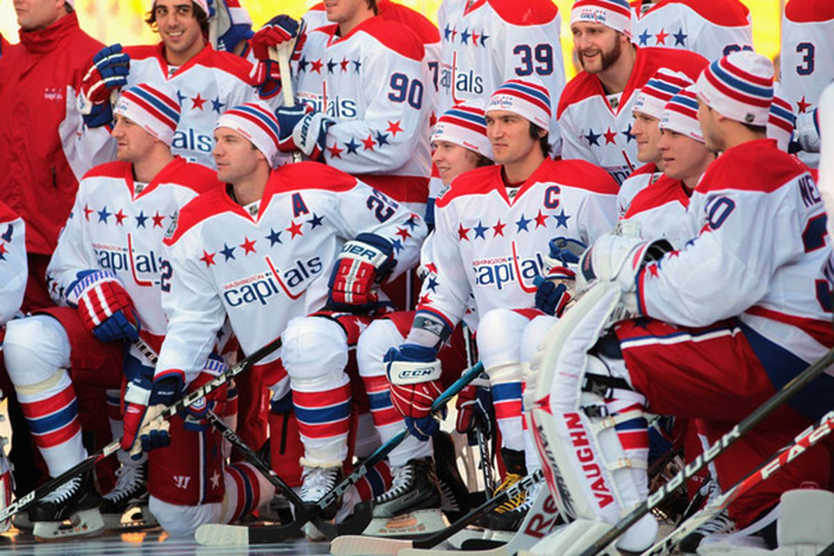 48e769565c9 Jamie Squire. The Washington Capitals officially announced Saturday morning  that they ll host the 2015 Winter Classic ...