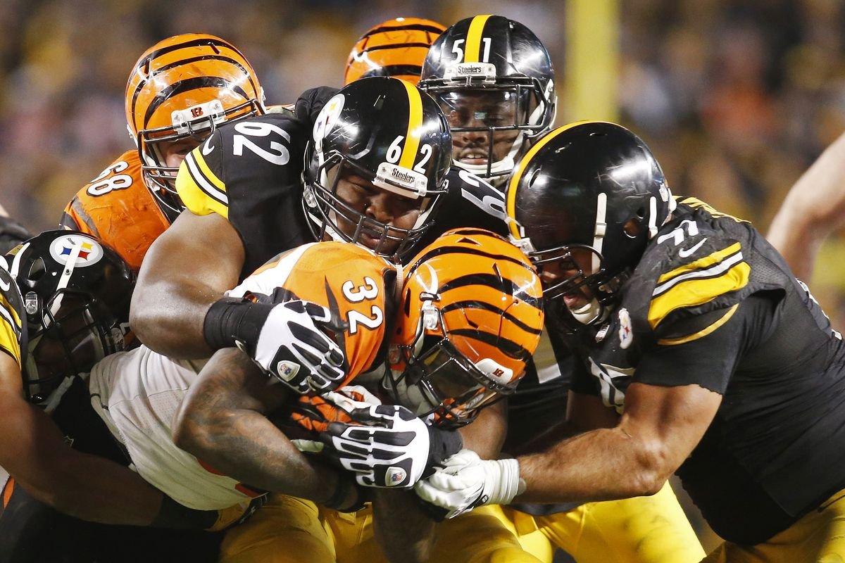 steelers vs. bengals 2015 week 8: game time, tv schedule and