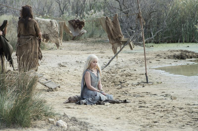 Daenerys Targaryen on Game of Thrones