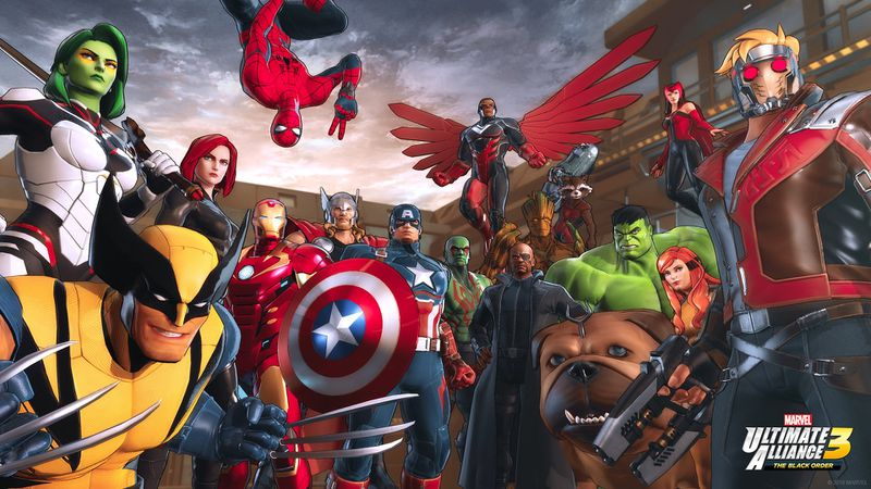 Marvel: Ultimate Alliance: The Black Order artwork