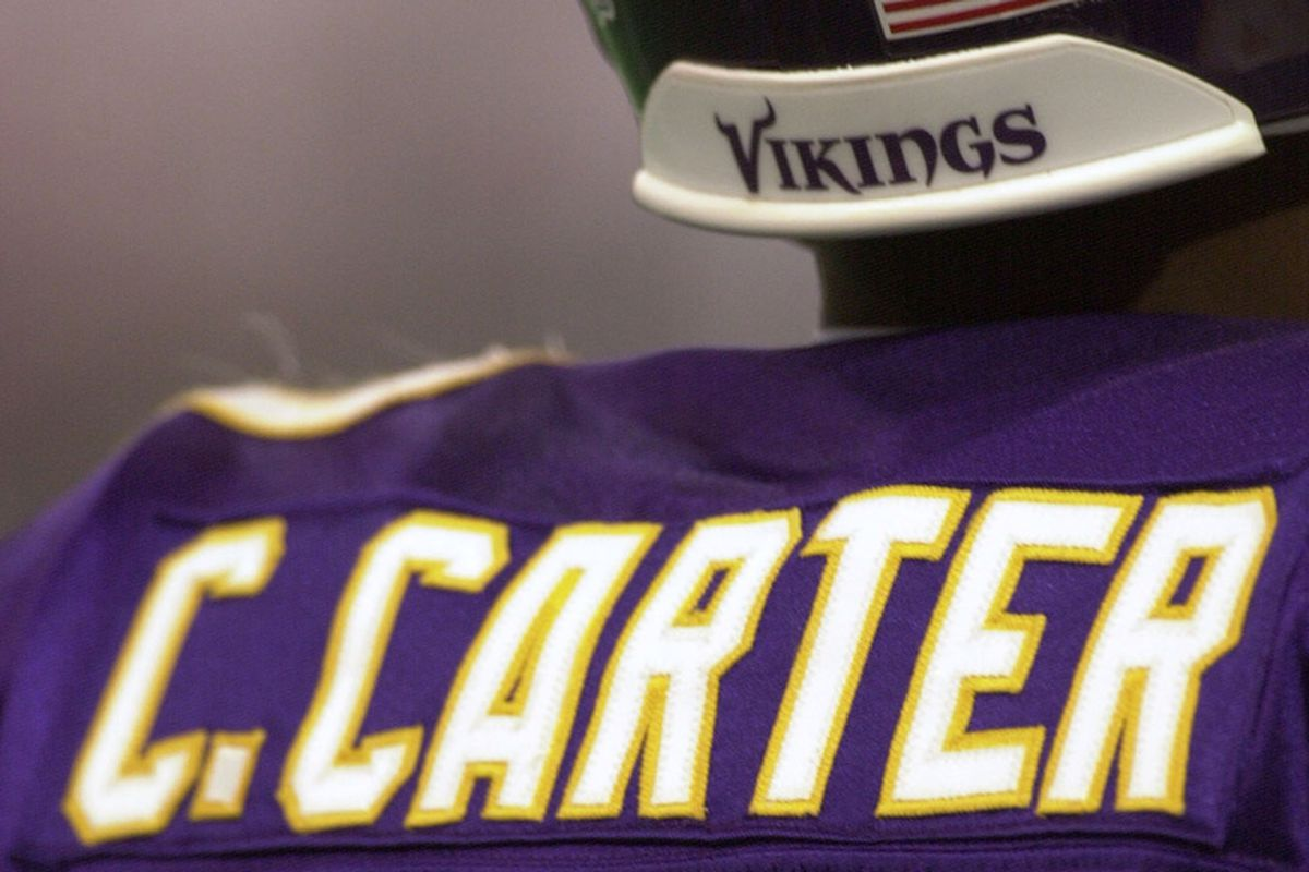 separation shoes a95a9 2f83d A Look Back At Cris Carter's Career - Daily Norseman
