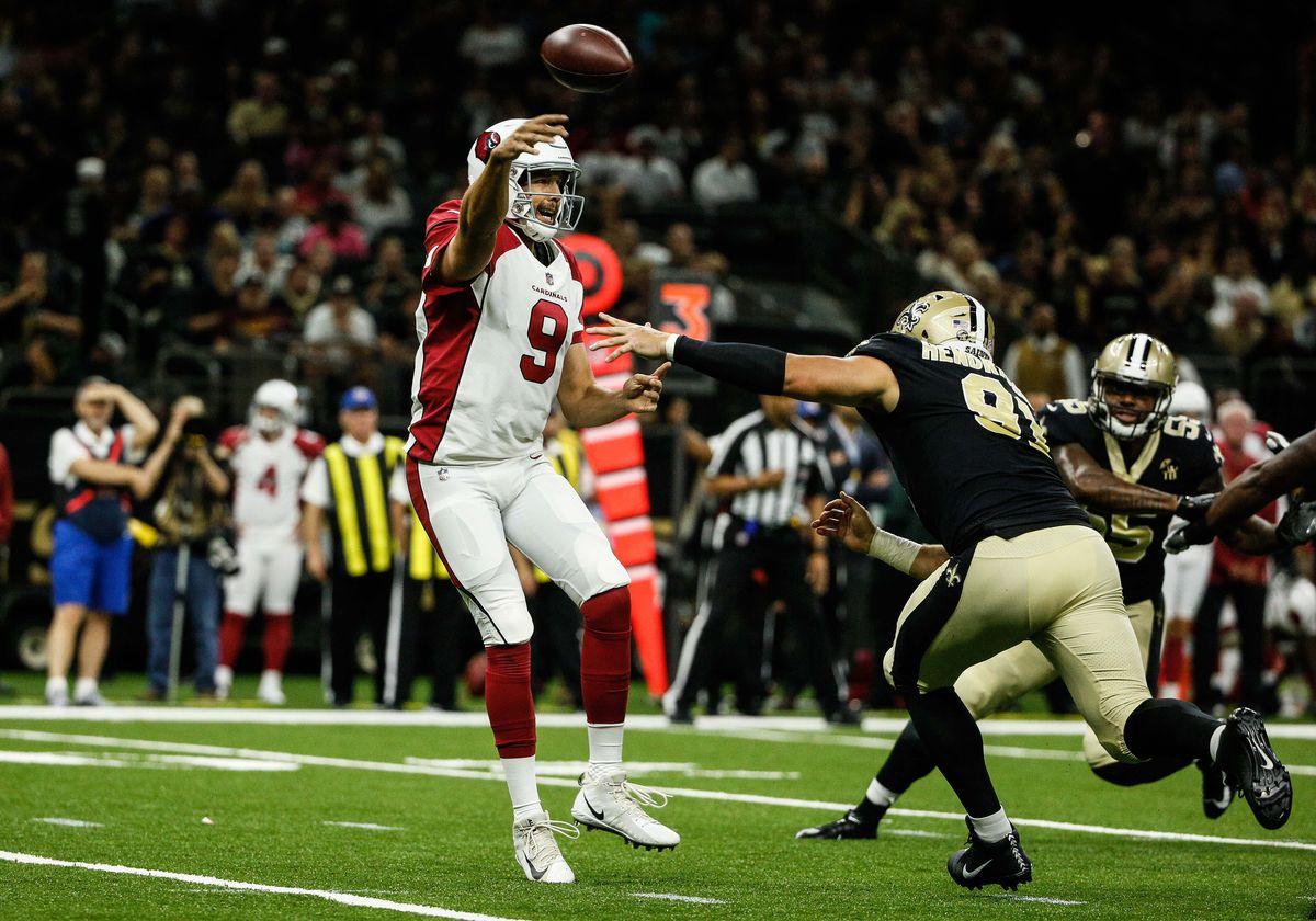NFL: Arizona Cardinals at New Orleans Saints