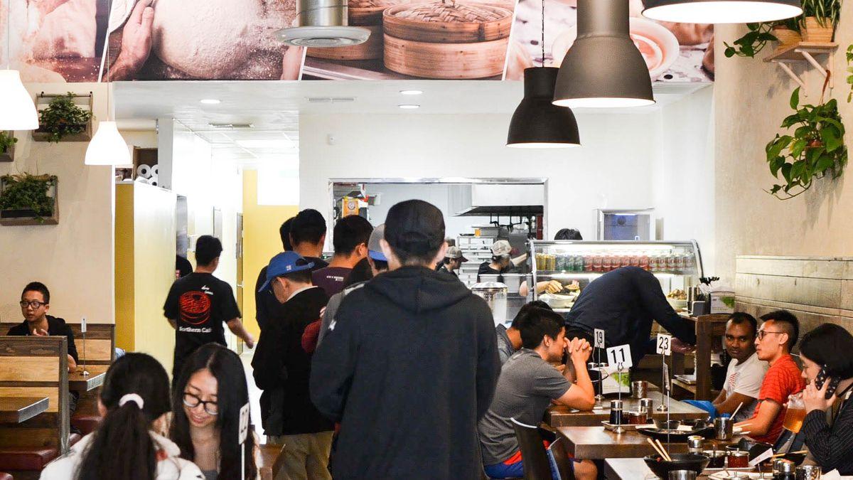 Inside Northern Cafe, Westwood