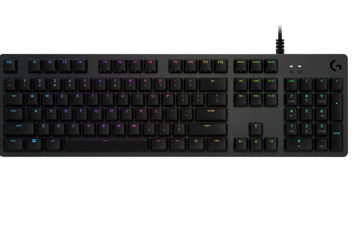 311dc82195a Logitech announces new GX Blue switch for its G512 gaming keyboard ...