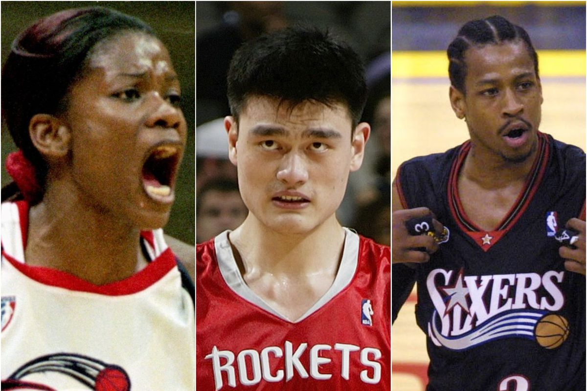 Sheryl Swoops, Yao Ming and Allen Iverson all changed basketball in many ways off the court.