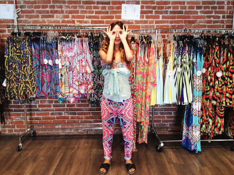 Meet Mara Hoffman at Her Colorful, Stacked Sample Sale Now - Racked LA