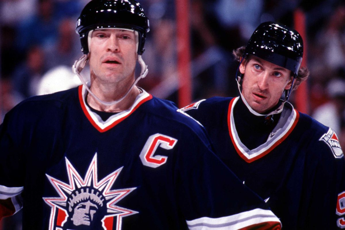 A First Glimpse At New York Rangers' Reverse Retro Jersey ...