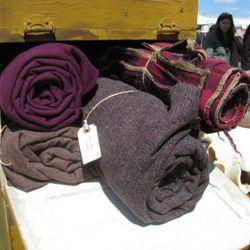 "Vintage cowboy blankets from <a href=""http://dailymemorandum.com/"" rel=""nofollow"">Daily Memorandum</a>. Great for pretending you're an extra in <i>True Grit</i>."