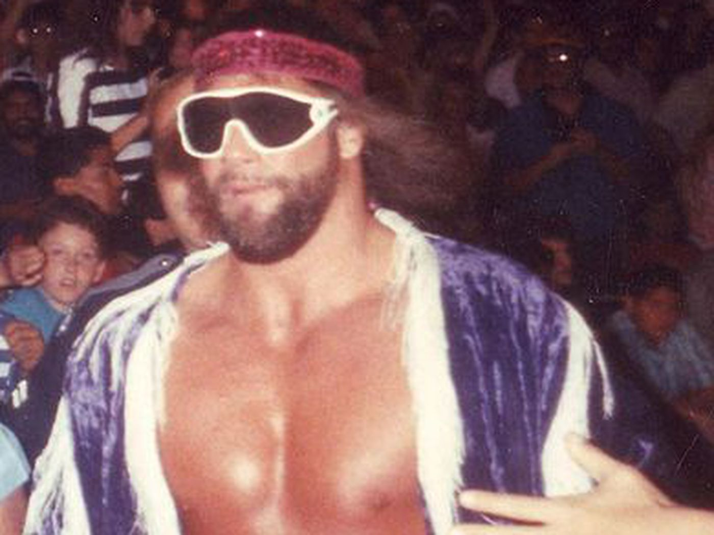 Macho Man Randy Savage S Cageside Evaluation Cageside Seats
