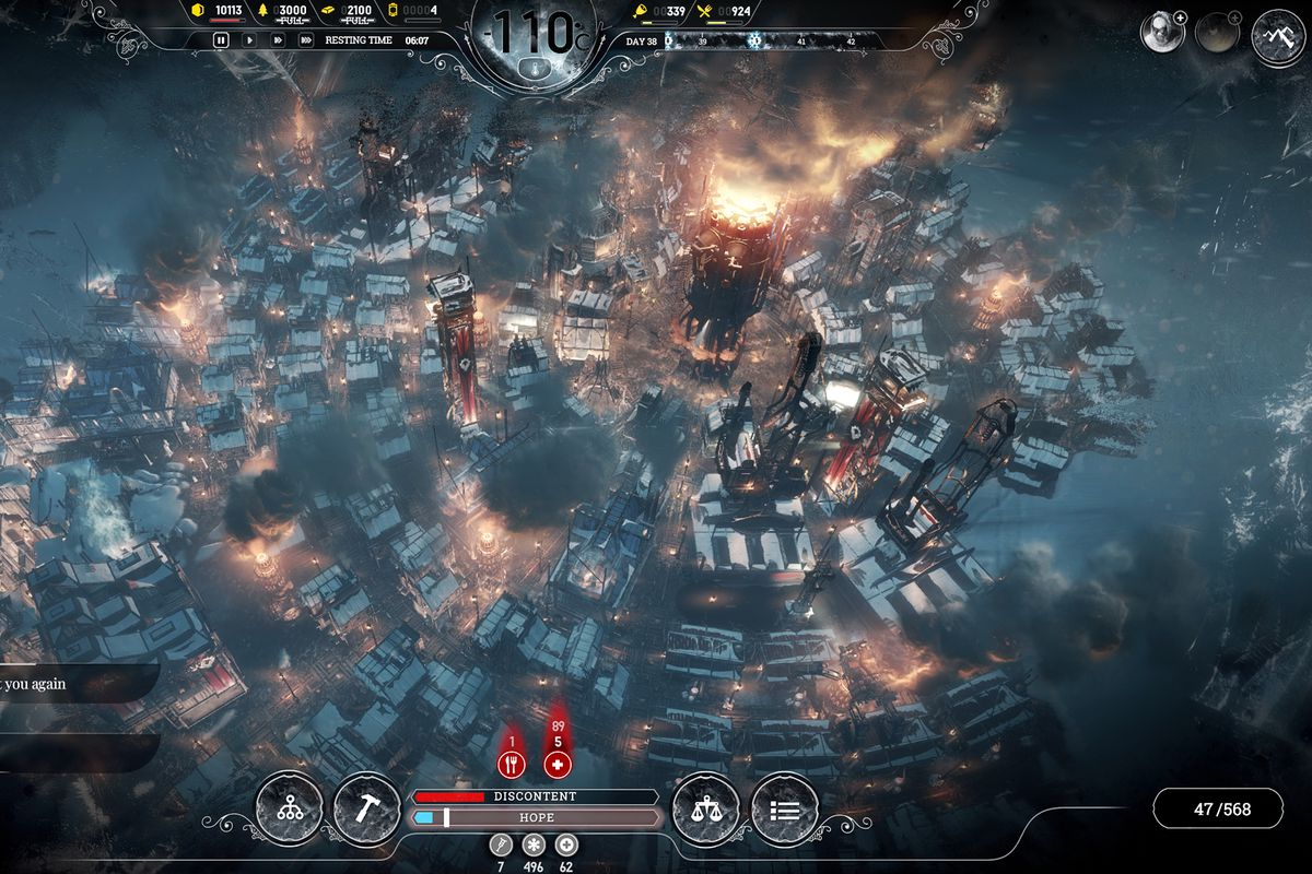 Frostpunk is a game about suffering on an industrial scale - Polygon