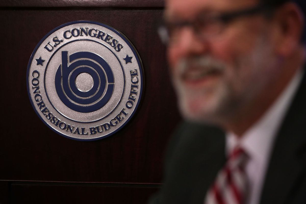 Congressional Budget Office Director Keith Hall Holds Briefing On Economic Outlook