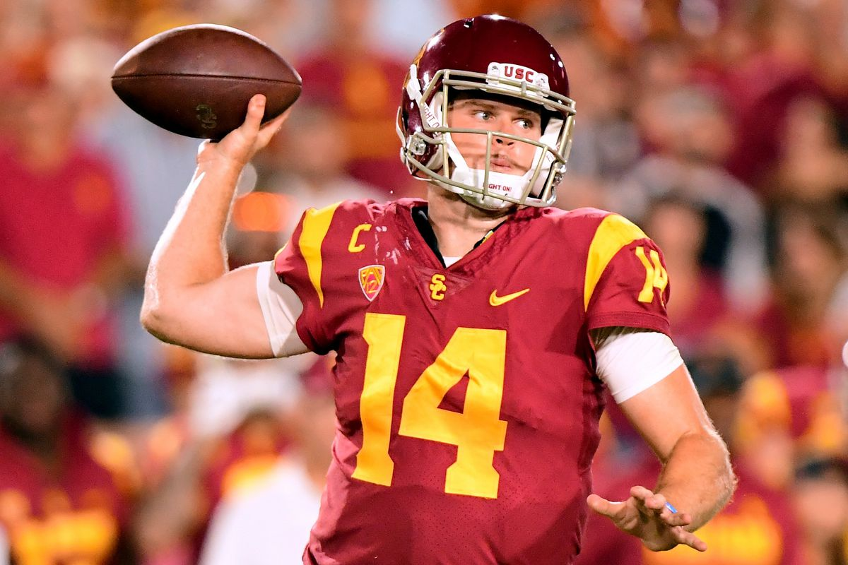 Usc Football Has Sam Darnold Fallen Out Of The Heisman Race