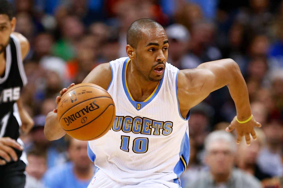 Arron Afflalo was a bright spot for the Nuggets tonight