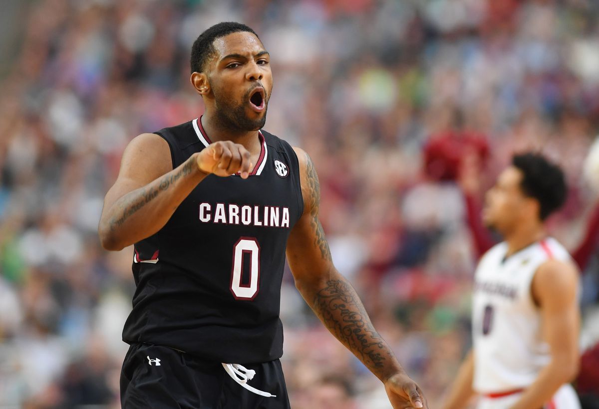 The San Antonio Spurs select Sindarius Thornwell from South Carolina with the No. 29 overall pick in the Blazer's Edge 2017 NBA Mock Draft.