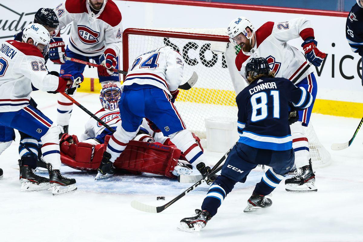 NHL: FEB 25 Canadiens at Jets