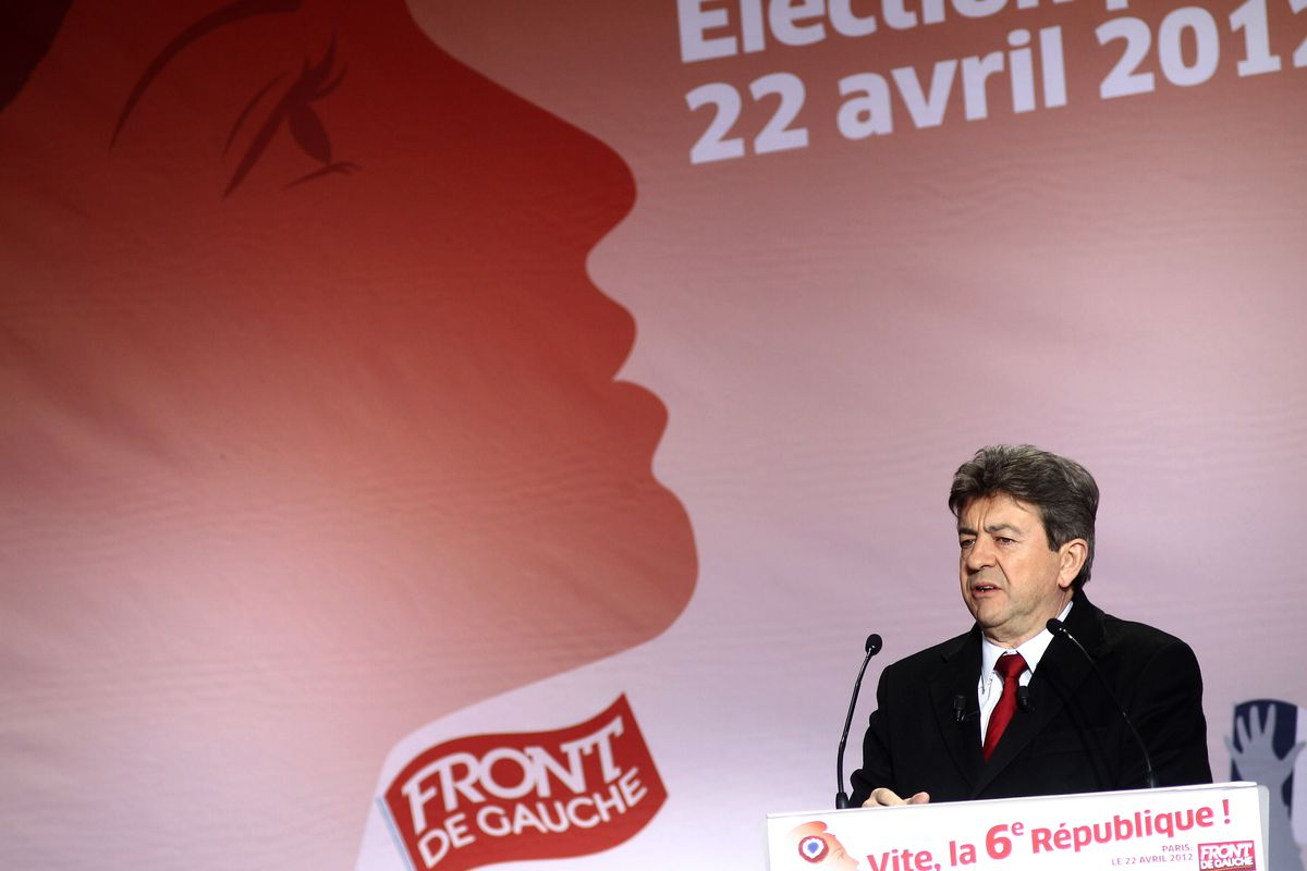 French Presidential Election 2012- Front De Gauche Party Awaiting For Election Results