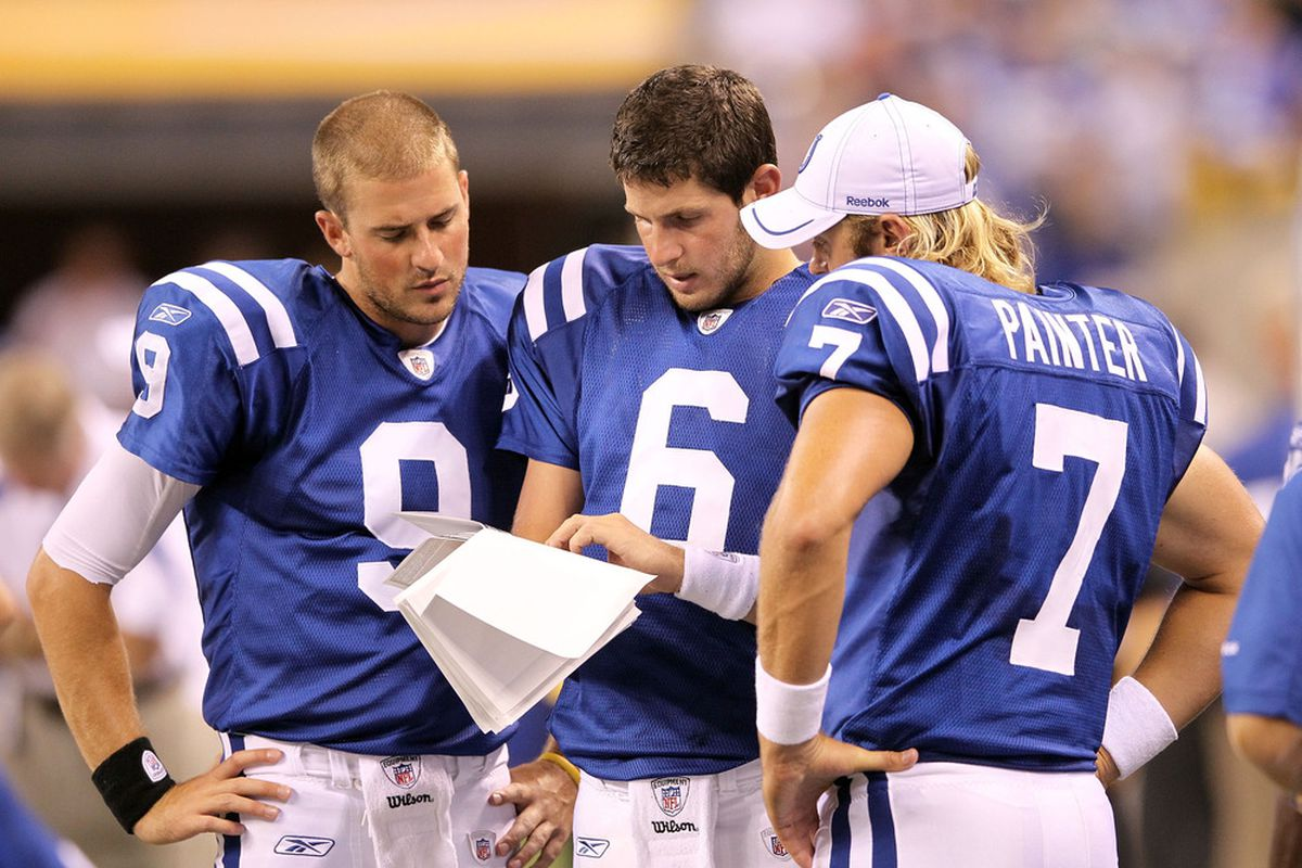"""""""It says here guys that this John Beck guy is from BYU, graduated in '07, but he's 30 years old. And he was on that 1-15 Dolphins team! Haha this guy could never back up Peyton the way we do!"""""""