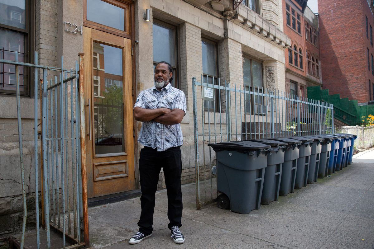 Lincoln Eccles manages a Crown Heights building that has been in his family since the 60s, June 24, 2020.