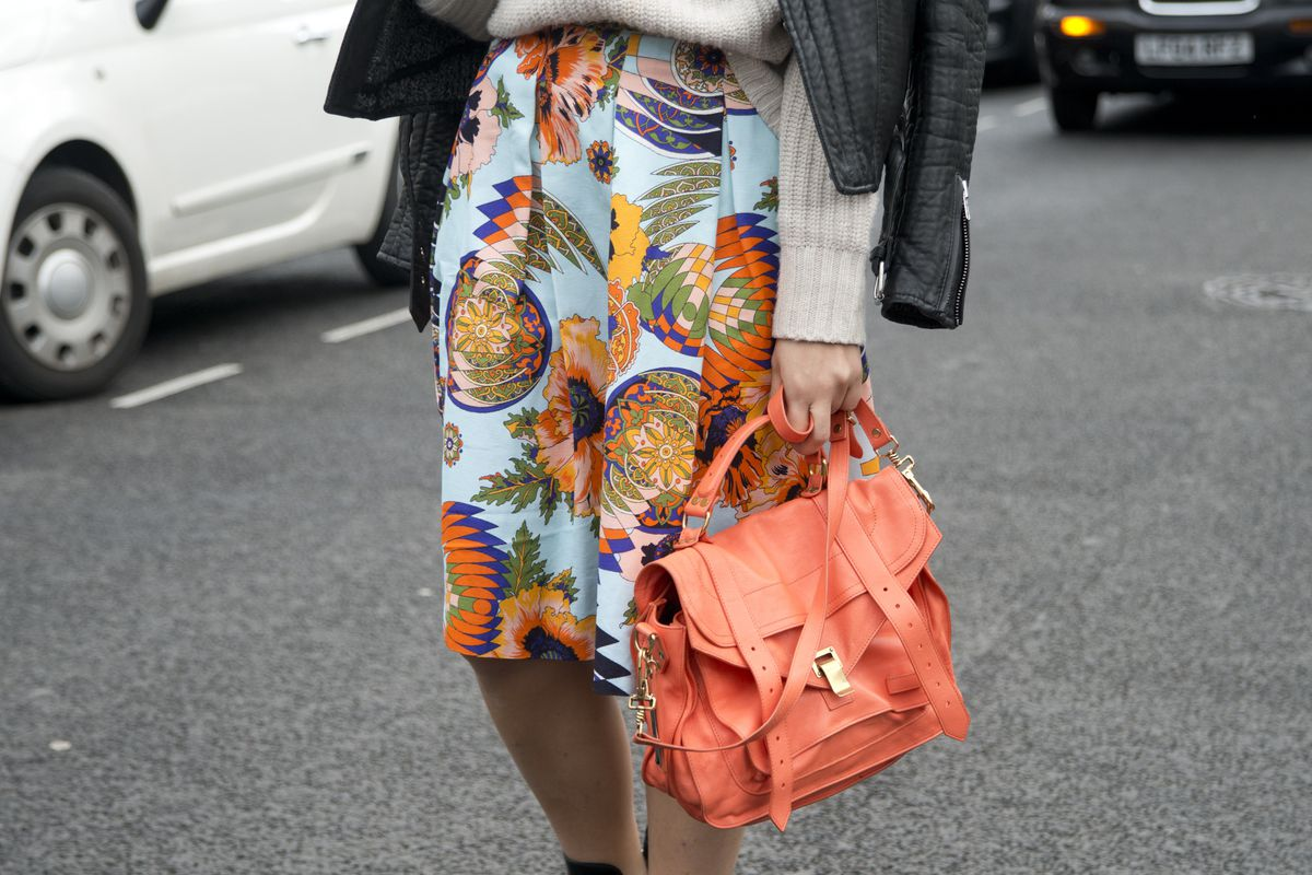 A Proenza Schouler Medium PS1 bag spotted at New York Fashion Week