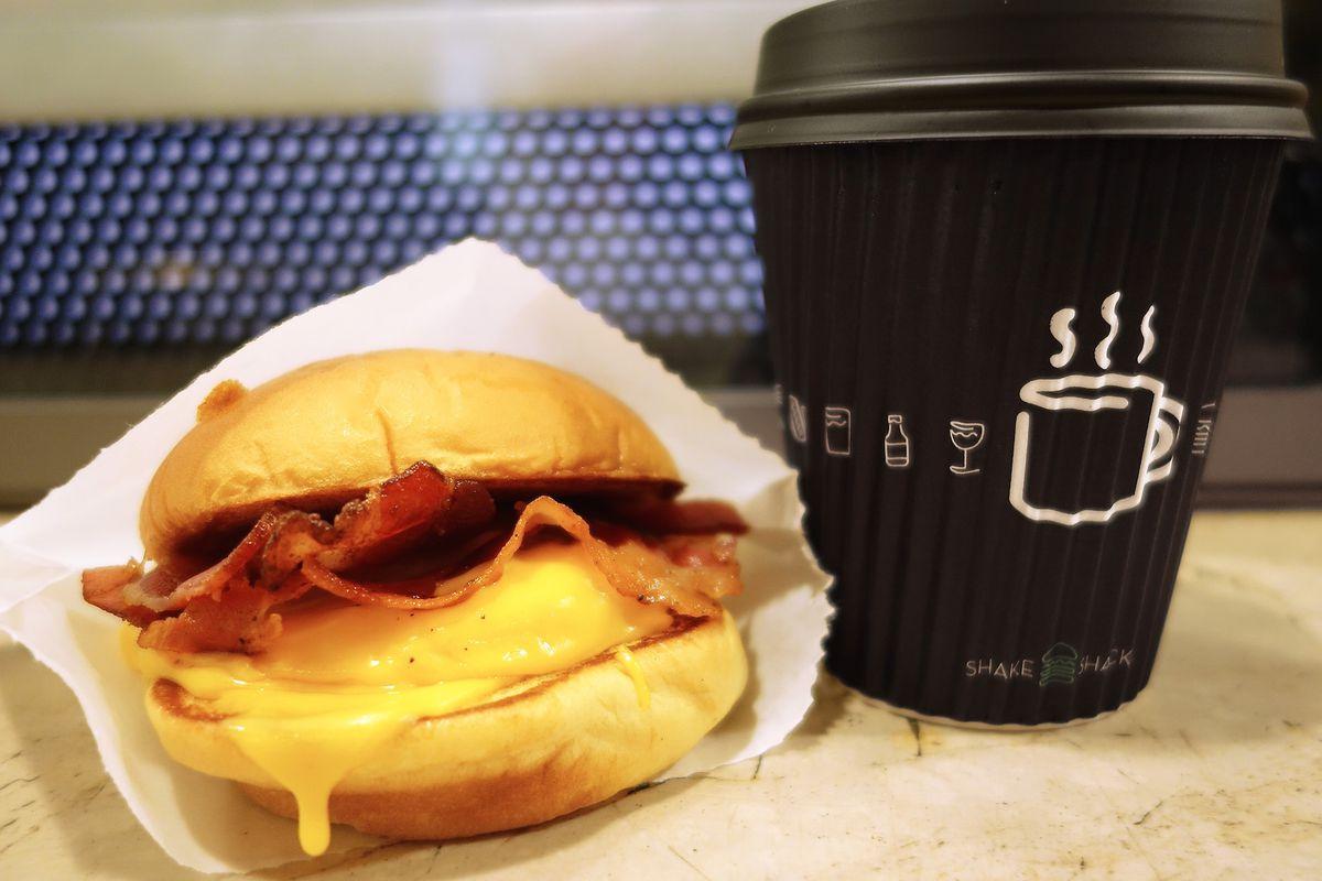 Shake Shack breakfast