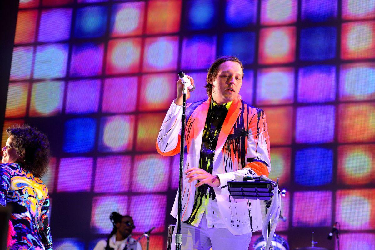 Arcade Fire's Régine Chassagne and Win Butler
