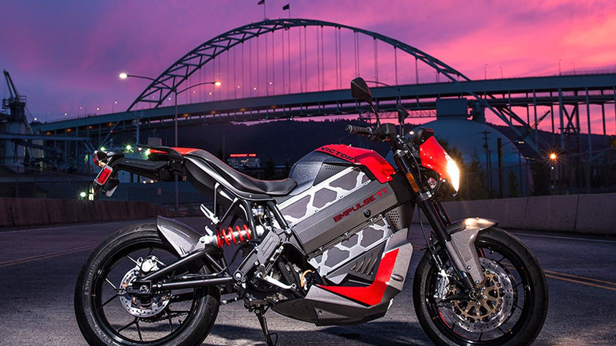 Victory S 19 999 Empulse Tt Electric Motorcycle Can Go 140 Miles On A Charge