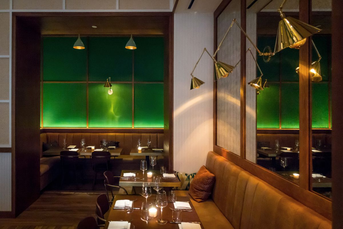 Restaurant Trend Emerald Green Is The New Design Power Color Eater