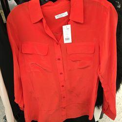 Equipment blouse, $97