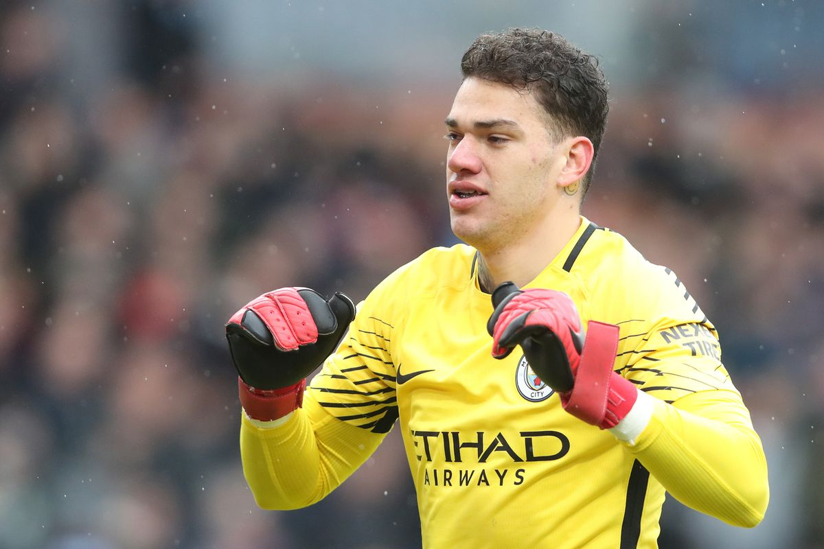 Ederson: 'I could play in midfield for Manchester City'