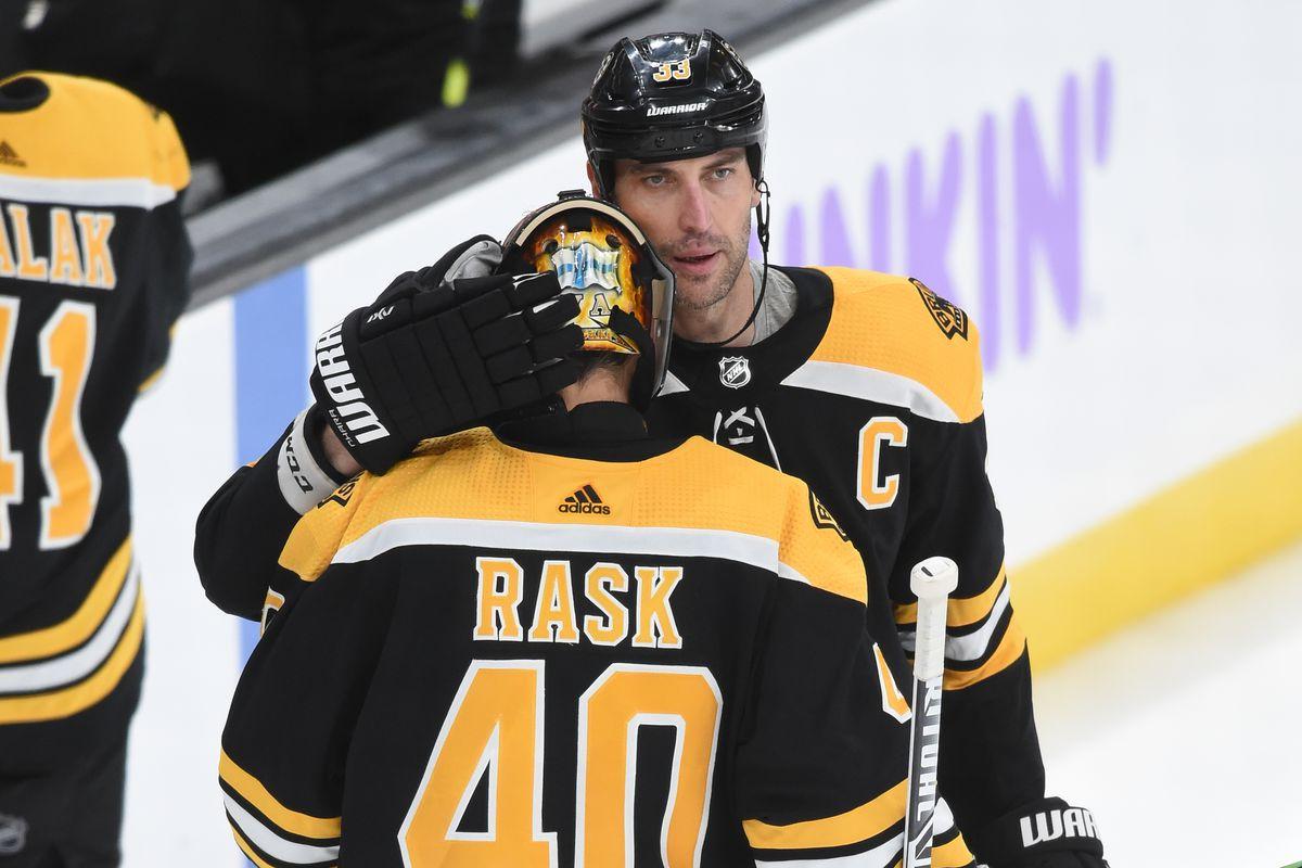 San Jose Sharks v Boston Bruins