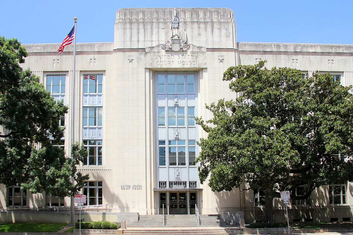Old federal courthouse in Austin