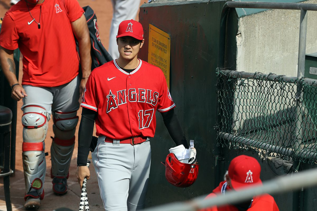 MLB: AUG 22 Angels at Athletics