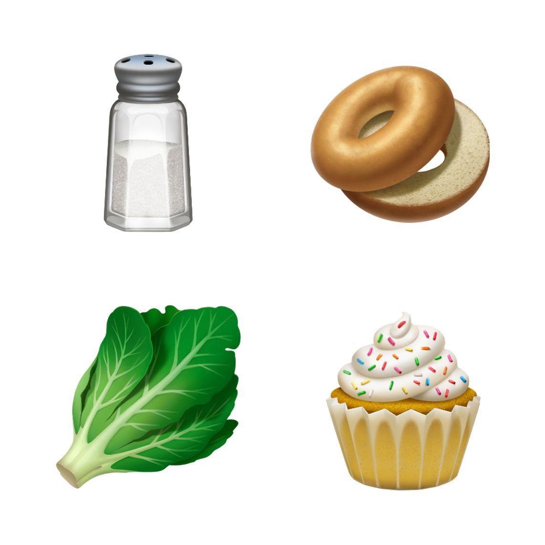 emoji for bagels