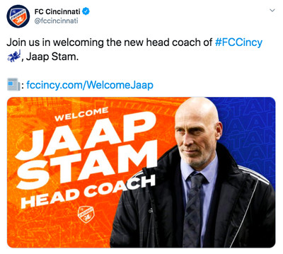 cincy - FC Cincinnati hired a coach, but they're not sure what he looks like