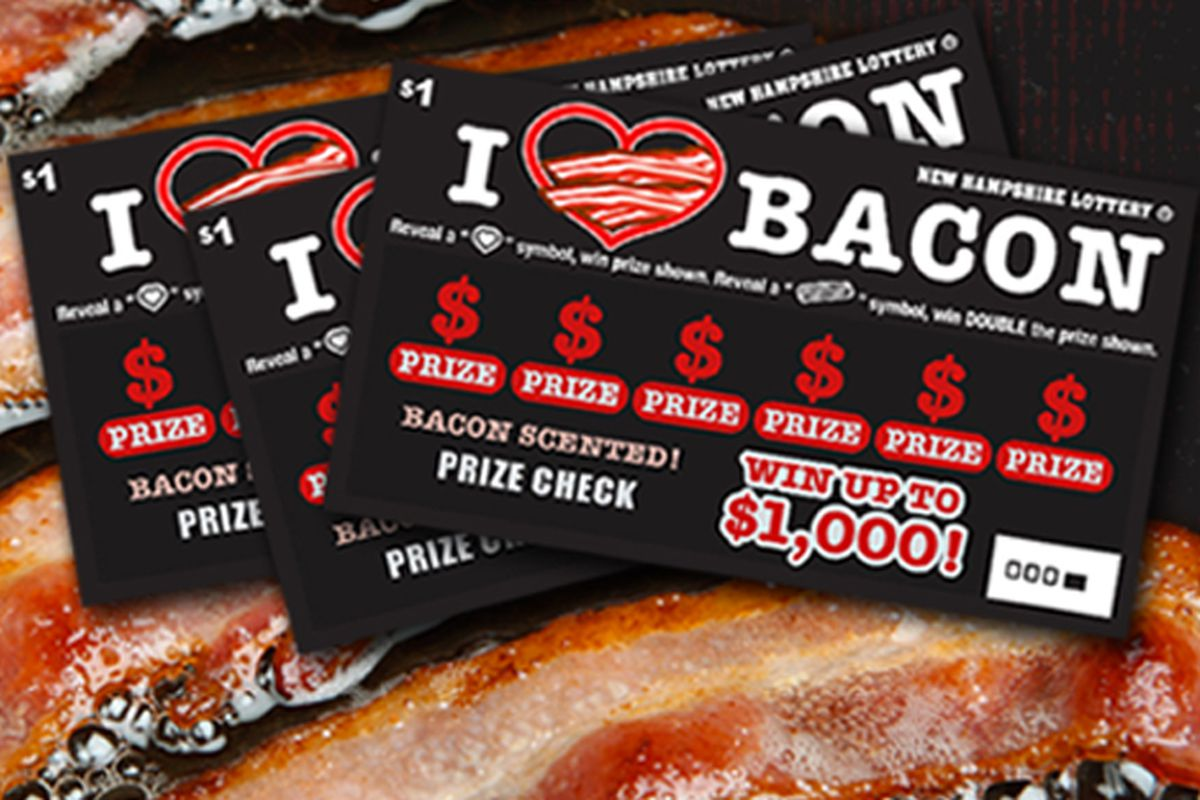 New Hampshire Lottery Cooks Up Bacon-Scented Scratch-Offs - Eater