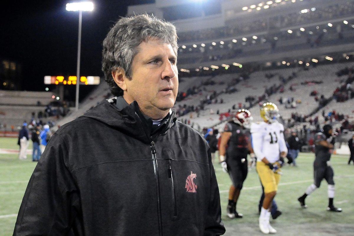 Mike Leach is hoping his team has the higher number on the scoreboard for just the third time this season.