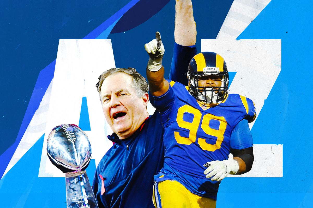 4b8263c2 Super Bowl 2019: New England Patriots vs. Los Angeles Rams, from A ...