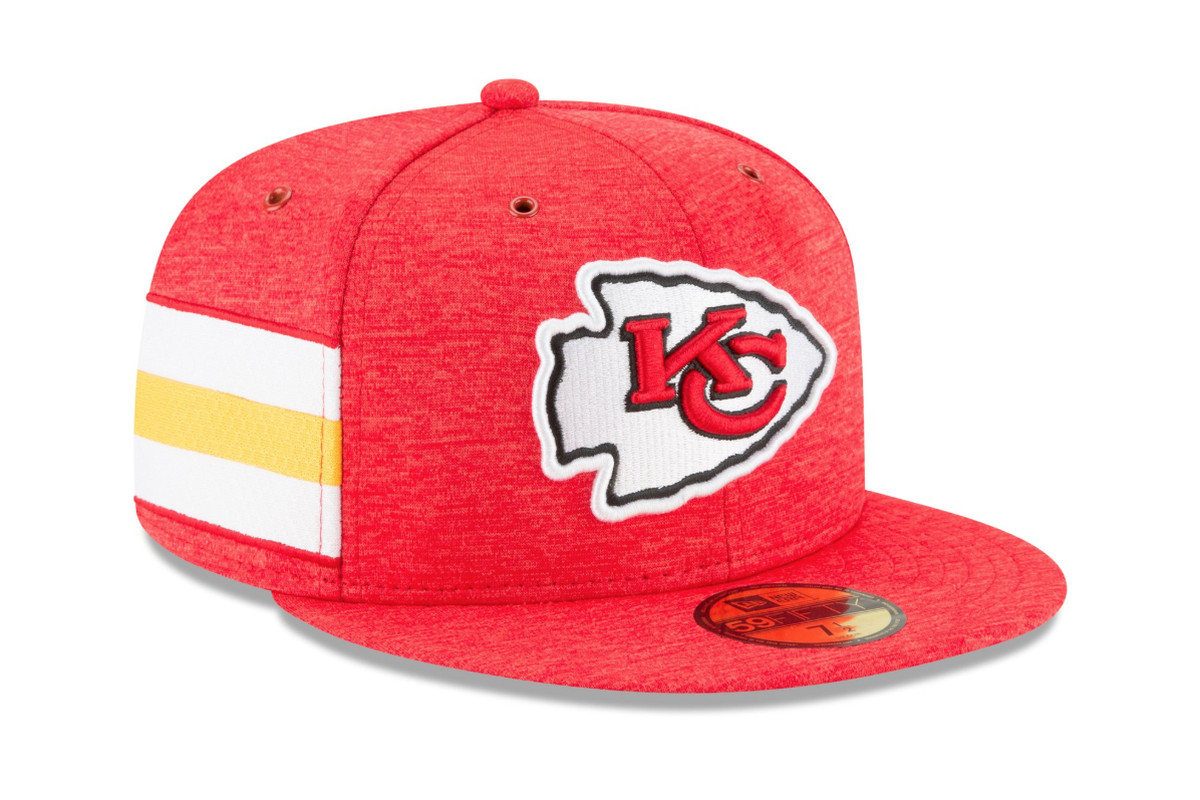 What do you think of the Kansas City Chiefs 2018 sideline caps ... 25b2583e565