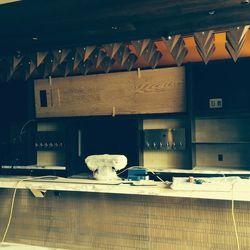 The inside bar at Mercadito.