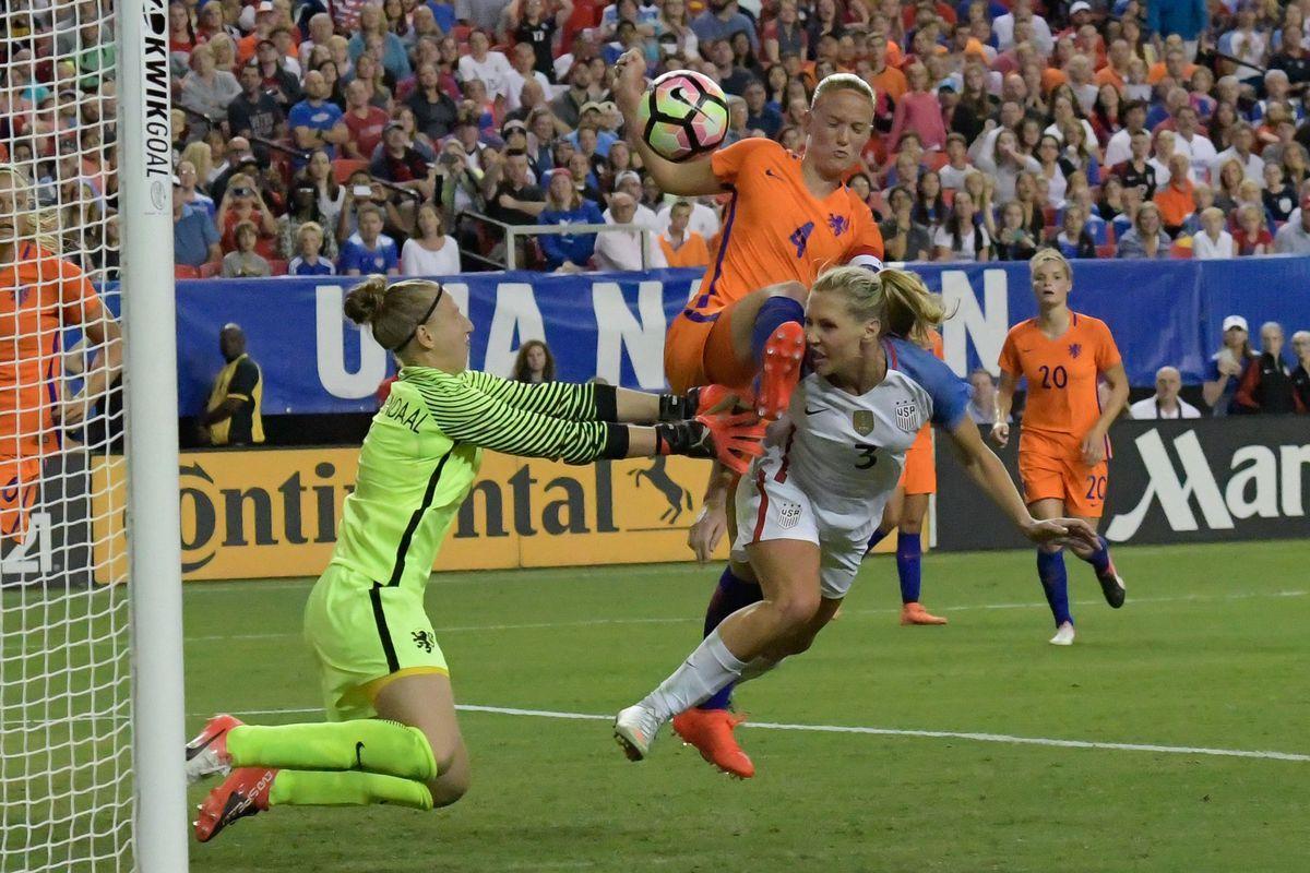 Soccer: International Friendly Women's Soccer-Netherlands at USA