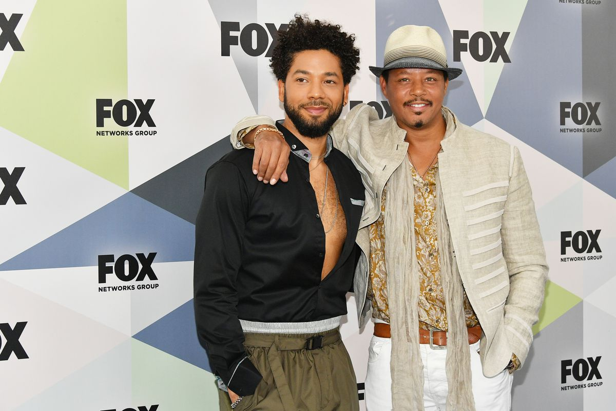 Jussie Smollett and Terrence Howard