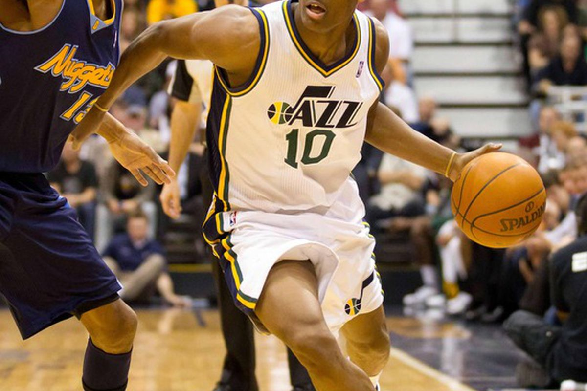 Former CU Buff Alec Burks returns to Colorado to take on the Nuggets tonight.