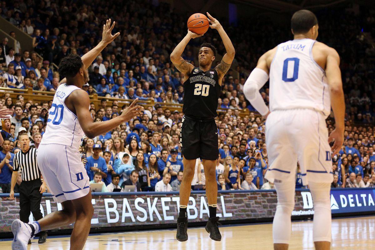 NCAA Basketball: Wake Forest at Duke
