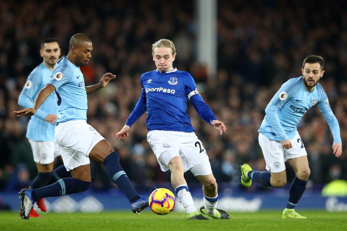 Everton FC v Manchester City - Premier League