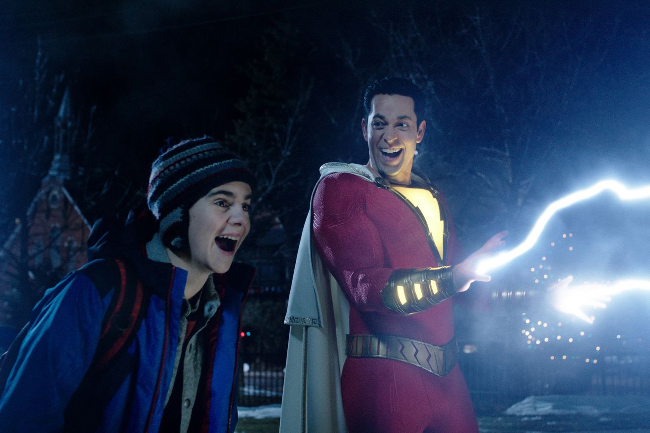 shazam finally lets dc superheroes be joyous fun