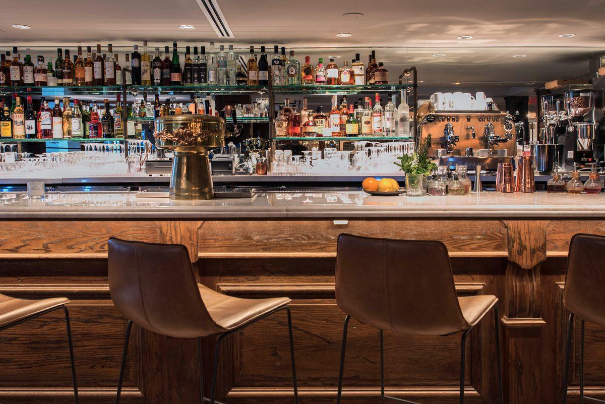 The bar at Henry at Life Hotel