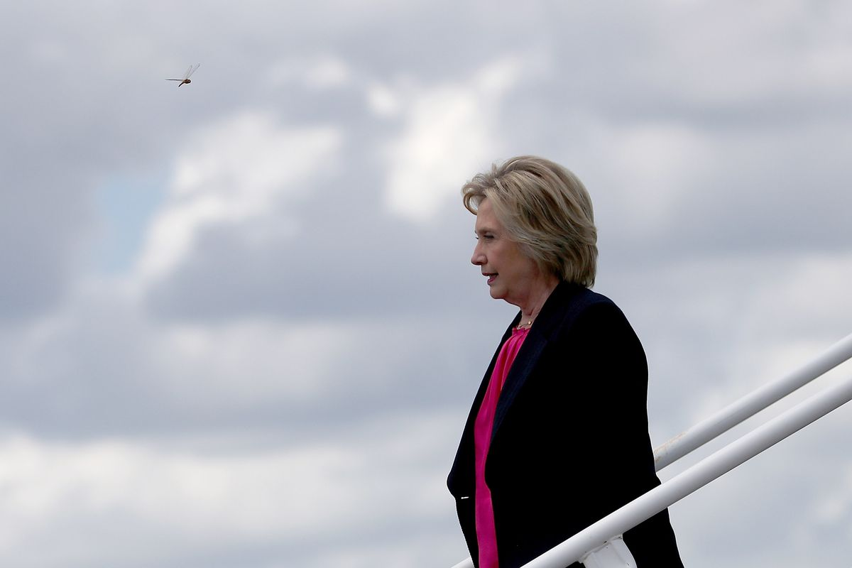 Hillary Clinton Campaigns In Tampa